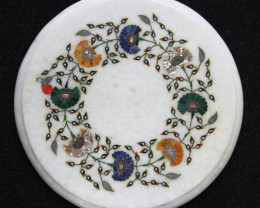 Taj Mahal  White marble gemstone Tops MIG 017