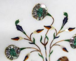 Taj Mahal  White marble gemstone Tops MIG 032
