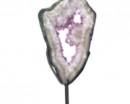 8.6kg Natural Brazil Amethyst Geode Slice DS132
