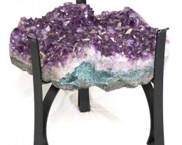 49.63kg Amethyst Crystal Geode Specimen Table DS145