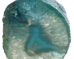 Green Agate Tealight Candle Holder