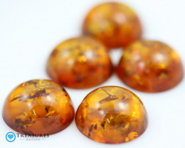 38Cts Gold Yellow Amber - AM 1985