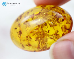 27Cts Gold Yellow Amber - AM 1989