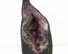 0.55kg Amethyst Crystal Geode Specimen J149