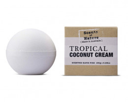 Tilley Scents of Nature Bath Fizz Tropical Coconut 150g