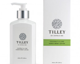 Tilley Body Lotion Coconut & Lime 400ml