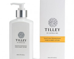 Tilley Body Lotion Tahitian Frangipani 400ml
