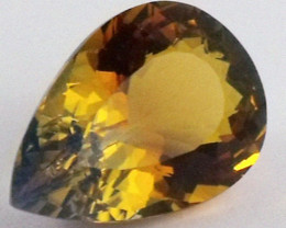 12.45 CTS BI COLOR GEMSTONE (SYNTHETIC CITRINE )  PG 76