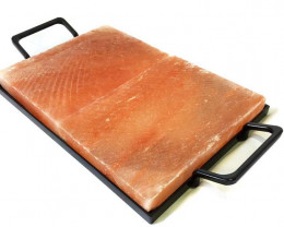 Cooking Salt Slab 2 x (8 x 6 x 1) inch with Cooking Tray