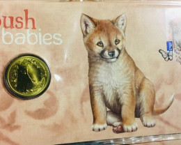 Australian Bush Babies - Dingo Stamp and Coin Cover 2011