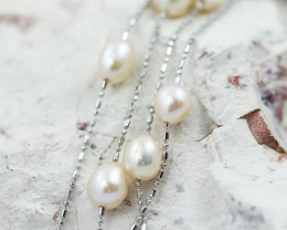 Beautiful Natural Fresh water Pearl Necklace  GTJA 131