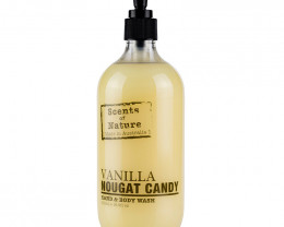 Tilley Scents of Nature Body Wash Vanilla Nougat Candy 500ml