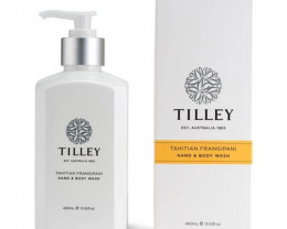 Tilley Body Wash Tahitian Frangipani 400ml