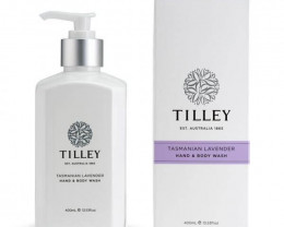 Tilley Body Wash Tasmanian Lavender 400ml