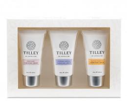 Tilley Floral Hand & Nail Cream Trio 3x45ml