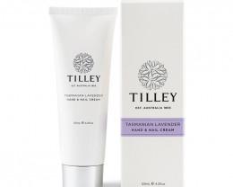 Tilley Hand & Nail Cream Tasmanian Lavender 125ml