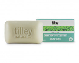 Tilley Green Tea & Shea Butter Soap 120g