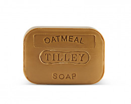 Tilley Stamped Soap Oatmeal 100g