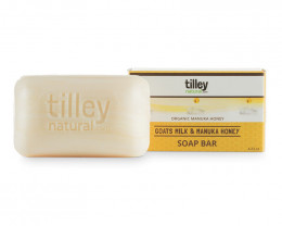 Tilley Natural Goats Milk & Manuka Honey Soap 120g