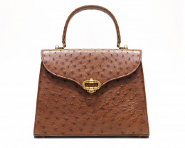 OSTRICH LEATHER BAG #O03