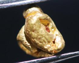 ONE NUGGET  to  0.53 Grams Australian Kalgoorlie Gold Nugget CH170