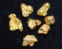 ONE NUGGET 0.33 to 0.36  Grams Australian Kalgoorlie Gold Nugget CH190