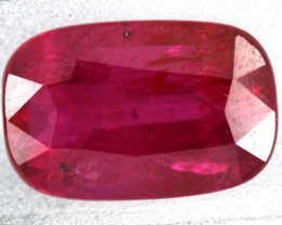 2.02CTS CERTIFIED UNHEATED RED PINK BRIGHT RUBY  TBM-1968