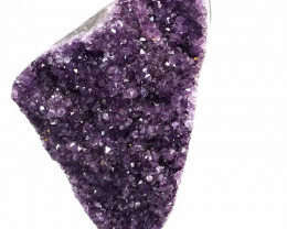 3.33kg Amethyst Geode With Custom Metal Stand DS251