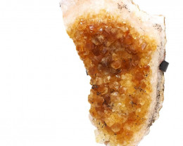 2.0kg Citrine Cluster With Custom Metal Stand DS263