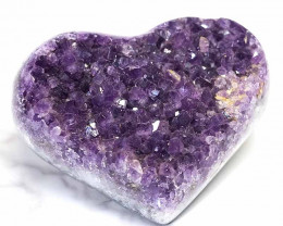 0.375kg Natural Amethyst Druze Heart DS267