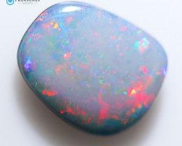 3.95Cts Coober Pedy Cabochon Skin Shell Opal doublet   CH243