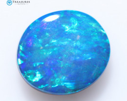 0.70Cts Coober Pedy Skin Shell Opal doublet   CH245