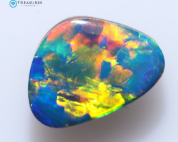 1.00Cts Coober Pedy Skin Shell Opal doublet   CH247