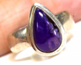 35.25CTS  - SUGILITE 925 STERLING SILVER RING  RJA-654
