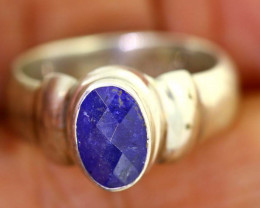 41.65-CTS-  TANZANITE 925 STERING SILVER RING RJA-659