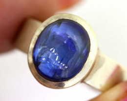 35.50CTS- TANZANITE 925 STERING SILVER RING RJA -664