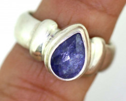 42.10CTS- TANZANITE 925 STERING SILVER RING RJA -666