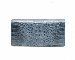 CROCODILE  WALLET #NAVY