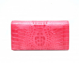 CROCODILE  WALLET #PINK