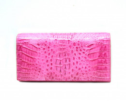 CROCODILE  WALLET #Fuchsia