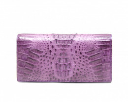 CROCODILE  WALLET #PURPLE