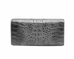 CROCODILE  WALLET #BLACK