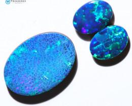 3.07Cts Parcel Australian Coober Pedy Opal Focal Doublet   CH297