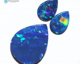 7.29Cts Parcel Australian Coober Pedy Opal Focal Doublet   CH302