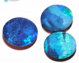 8.8Cts Parcel Australian Coober Pedy Opal Focal Doublet   CH304