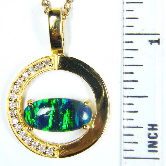 FASHION OPAL PENDANT  MYJA 980