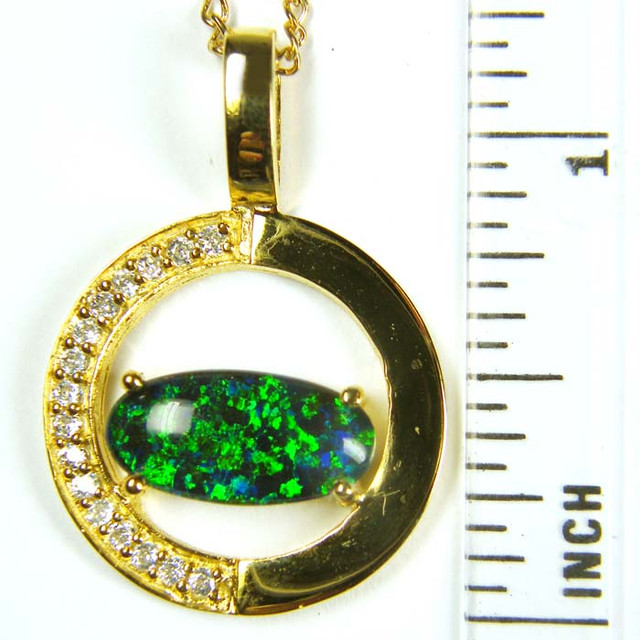 FASHION OPAL PENDANT  MYJA 995