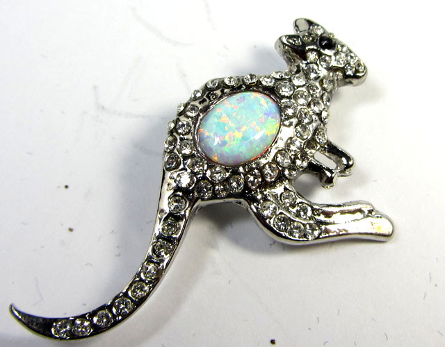 STYLISH OPAL  BROOCH CSS 218