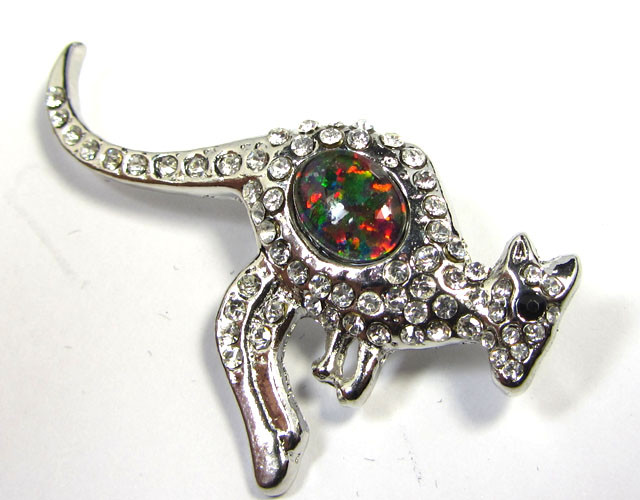 STYLISH OPAL  BROOCH CSS 224