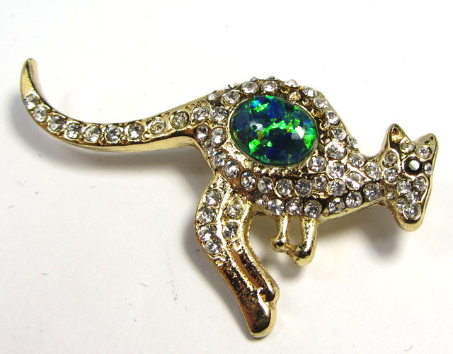 STYLISH OPAL  BROOCH CSS 227